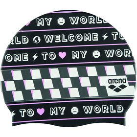 arena Print 2 Cap welcome black